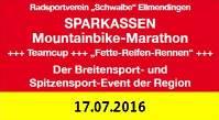 Sparkassen-MTB-Marathon am 17.07.2016